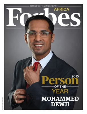 Mohammed Dewji has been named Forbes Africa 2015 Person of the Year. Photo: Facebook