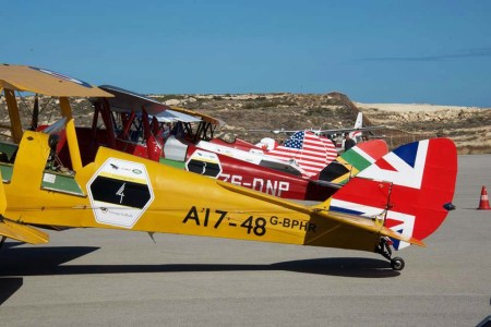 The vintage air rally will stop in Dar Wednesday en-route to Cape Town. Photo: Vintage Air Rally/ Facebook