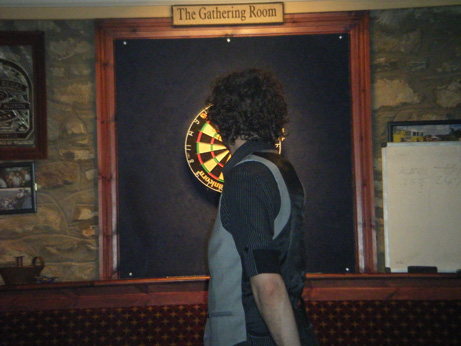 Darts with Michael