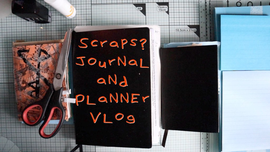Scraps! Journal and planner vlog update
