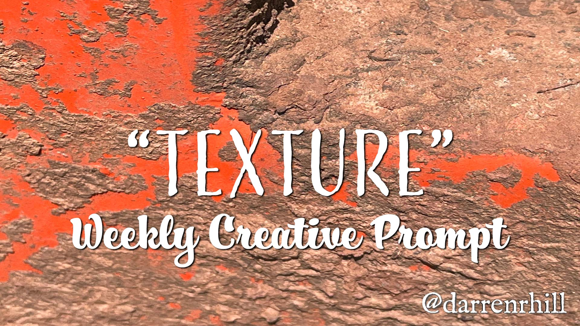 texture weekly creative prompt