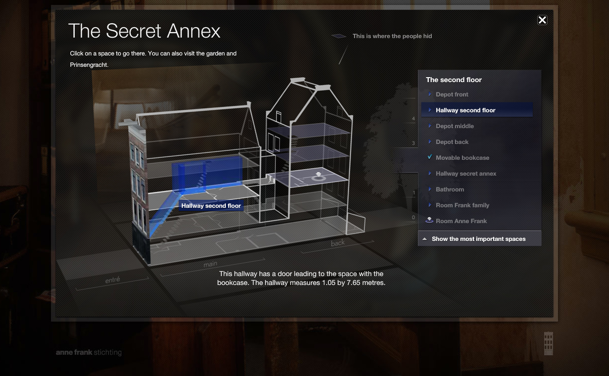 Take A Virtual Tour Of The Anne Frank House