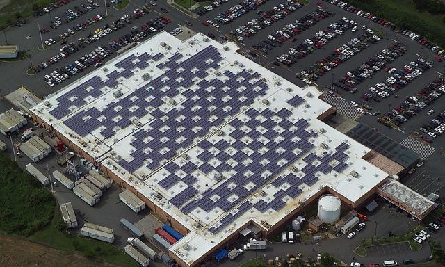 """Solar Panels on Caguas, Puerto Rico Walmart"" by Walmart on Flickr"