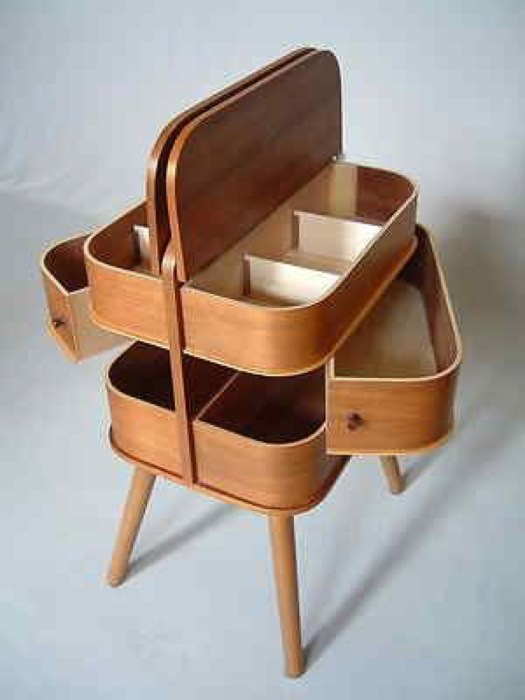 Danish sewing box