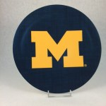 Michigan Melamine Plate