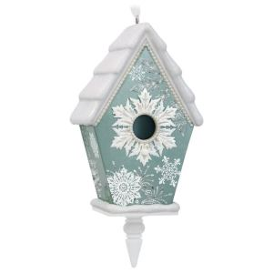 Beautiful Birdhouse Ornament