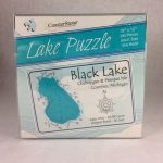 Black Lake Jigsaw Puzzle