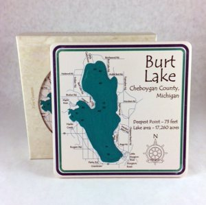 Burt Lake Coaster Set
