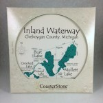 Michigan Inland Waterway Trivet