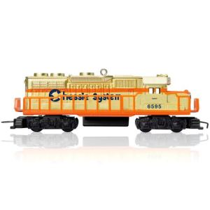 Lionel Limited Debut Ornament Chessie System Locomotive