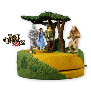 2013 Lions and Tigers and Bears Wizard of Oz Hallmark Ornament
