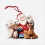 Visit From Santa 5th Anniversary Hallmark Ornament