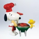 2011 Grill Master Snoopy Spotlight on Snoopy Hallmark Ornament