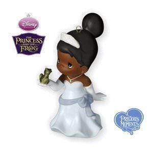 2010 Princess Tiana Disney Hallmark Ornament