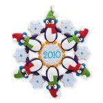 2010 Snow Many Penguins Premiere Hallmark Ornament