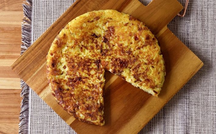 Duck Fat Rösti with Bacon & Comte Recipe | D'Artagnan