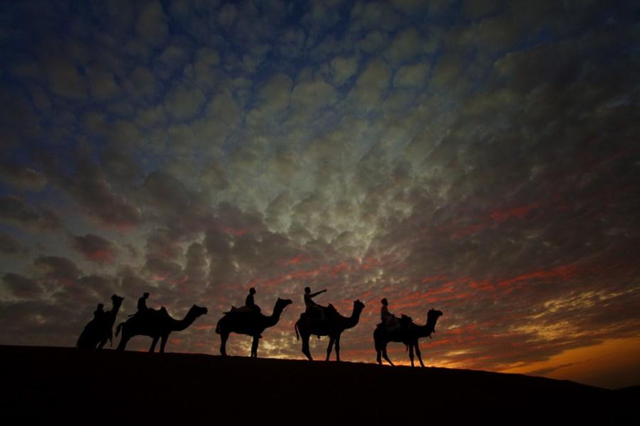 Image result for Jaisalmer in monsoon