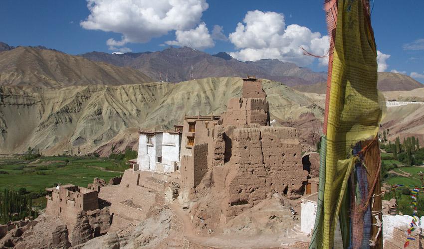 Ladakh-Basgo-Fort