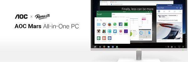 In arrivo un PC all-in-one con Remix OS, il sistema operativo Android con interfaccia simile a Windows