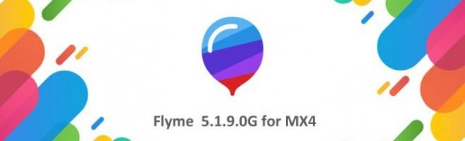 Arriva la Flyme 5.1.9.0G per Meizu MX4