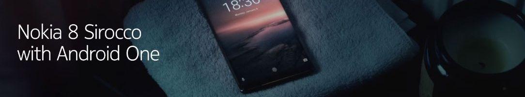 Nokia 8 Sirocco: smartphone elegante, potente e con Android One