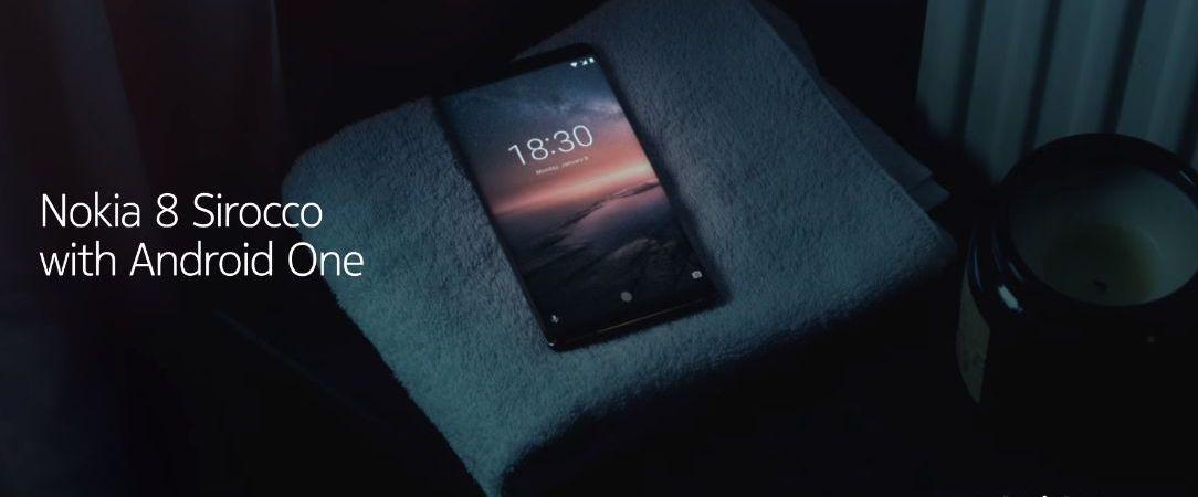 Al Mobile World Congress 2018 Nokia presenta il Nokia 8 Sirocco