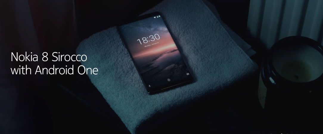 Al Mobile World Congress 2018 Nokia presenta il Nokia 8 Sirocco