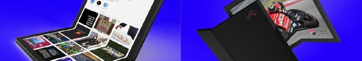 È di Lenovo il primo PC con display pieghevole