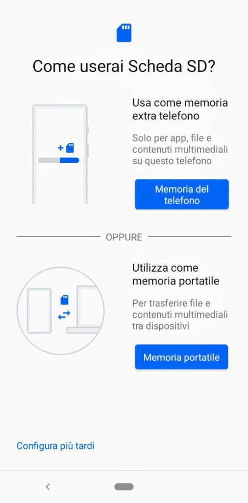 Scheda SD Xiaomi Mi A3 Darth News Side