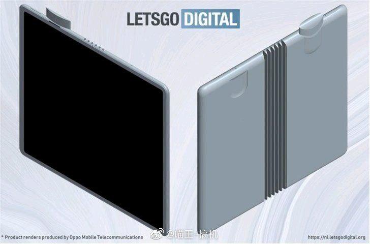 1 - Ecco lo smartphone con display pieghevole e fotocamera pop-up di  Oppo