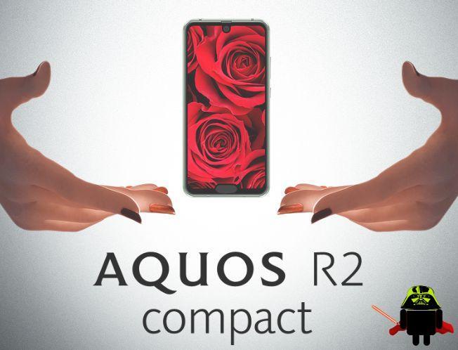 1 - Sharp Aquos R2 Compact