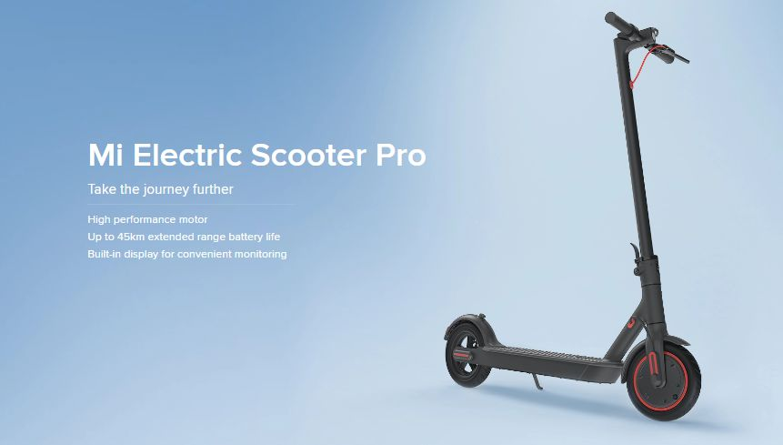 1 - Xiaomi Mi Electric Scooter Pro