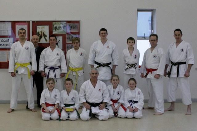 Karate Grading Success in Brixham