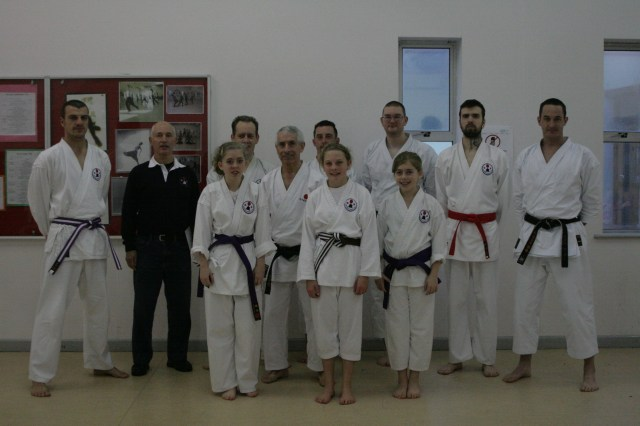 Dartmouth Karate Club  KUGB December 2013 Grading
