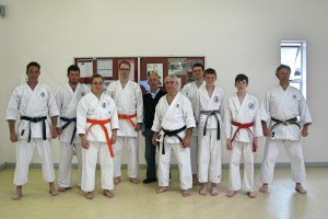 KUGB Karate Grading in Brixham for Tyler Urch, Lauren Ponfret, Michael Freeman, Dan Sinnot & Ian Parker