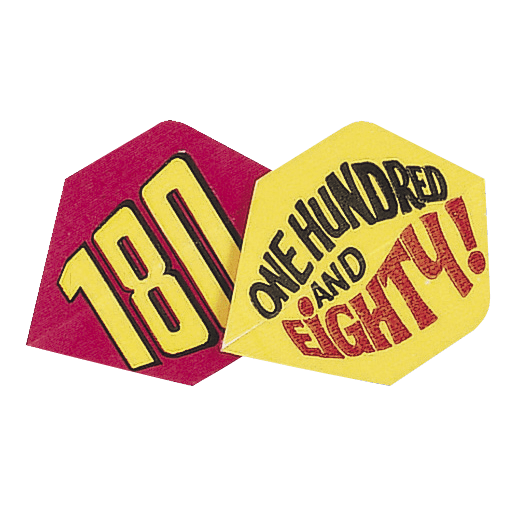 Unicorn Polyflite Dart Flights - One Hundred And Eighty design