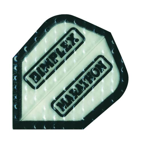 Harrows Marathon Dimplex Dart Flights - Clear