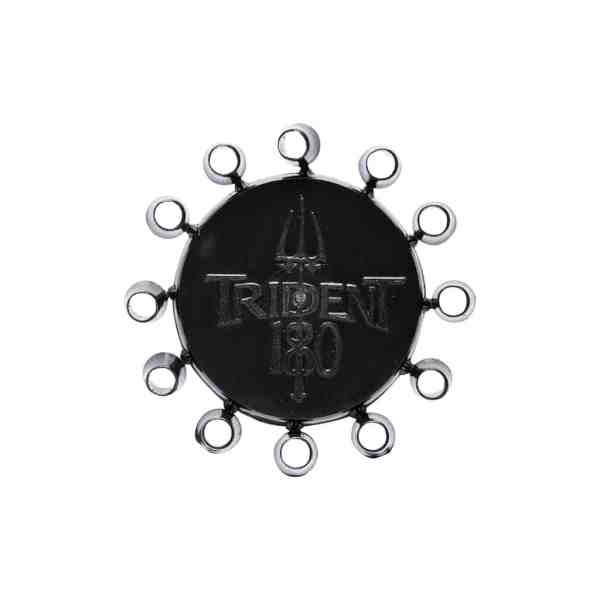 Trident 180 Black Dart Point Caps