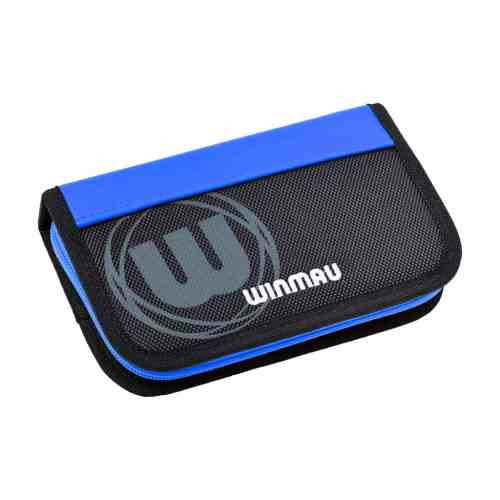 Winmau Urban-Pro Blue and Black Dart Case