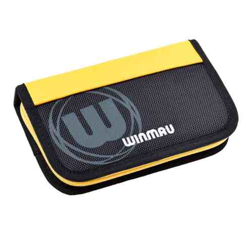 Winmau Urban-Pro Yellow and Black Dart Case