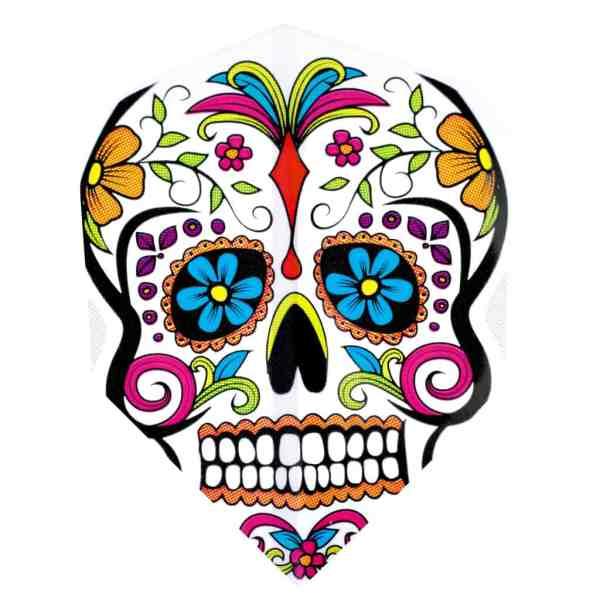 Harrows Quadro Día de Muertos Skull Flights