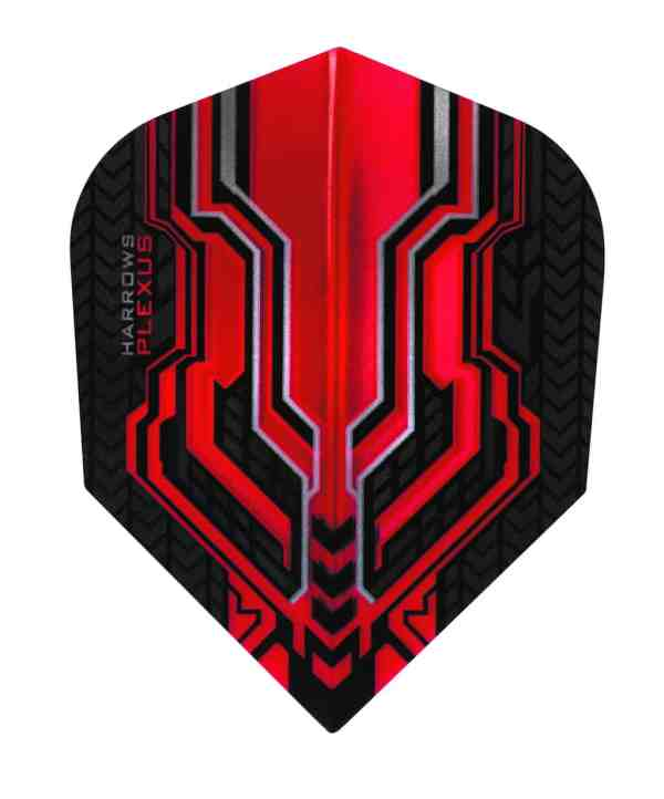Harrows Plexus Red Dart Flights
