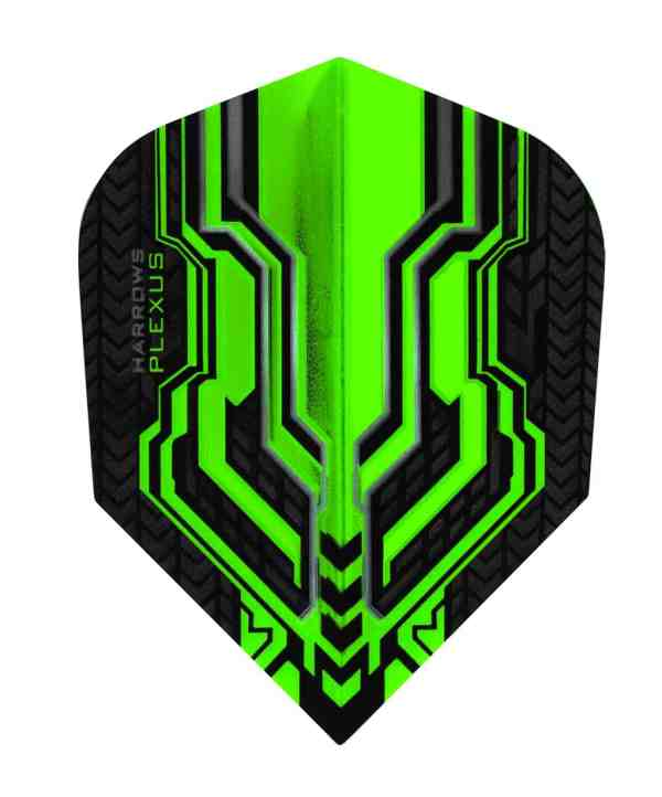 Harrows Plexus Green Dart Flights