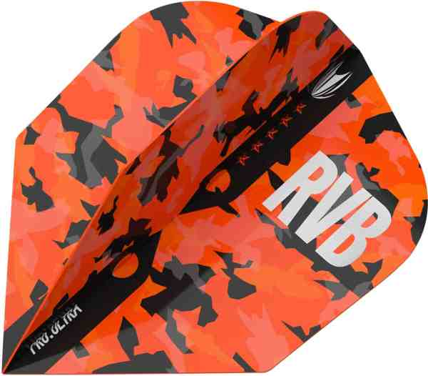 Target RVB Barney Army NO6 Camo Pro Ultra Dart Flights