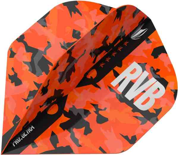 Target RVB Barney Army NO2 Camo Pro Ultra Dart Flights