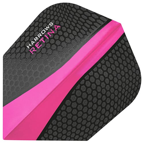 Harrows Retina Pink Dart Flights