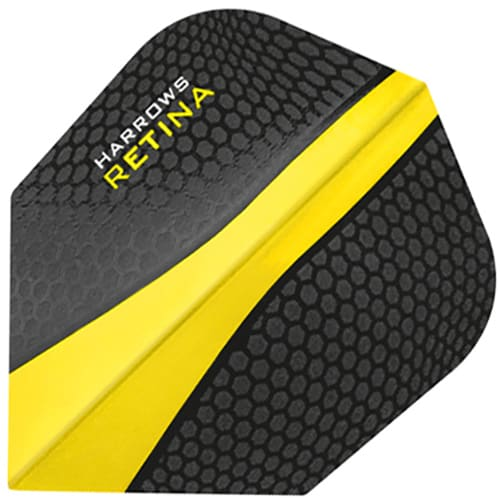 Harrows Retina Yellow Dart Flights