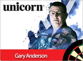 """Gary Anderson Darts - """"The Flying Scotsman"""""""