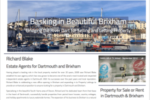 Richard Blake Estate Agents. Estate Agents Brixham, Kingswear & Dartmouth