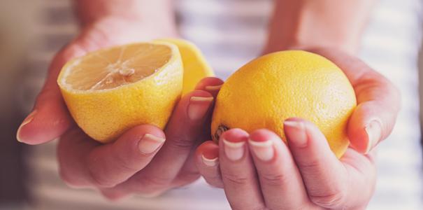Le citron pour ralentir la repousse des poils